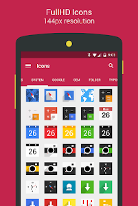 Easy Square - icon pack screenshot 9