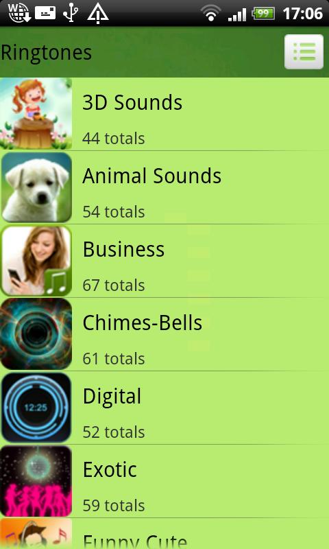 1200+ Ringtones - screenshot