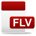 FLV Video Player logo
