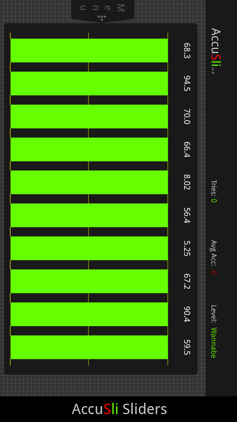 AccuSli- screenshot