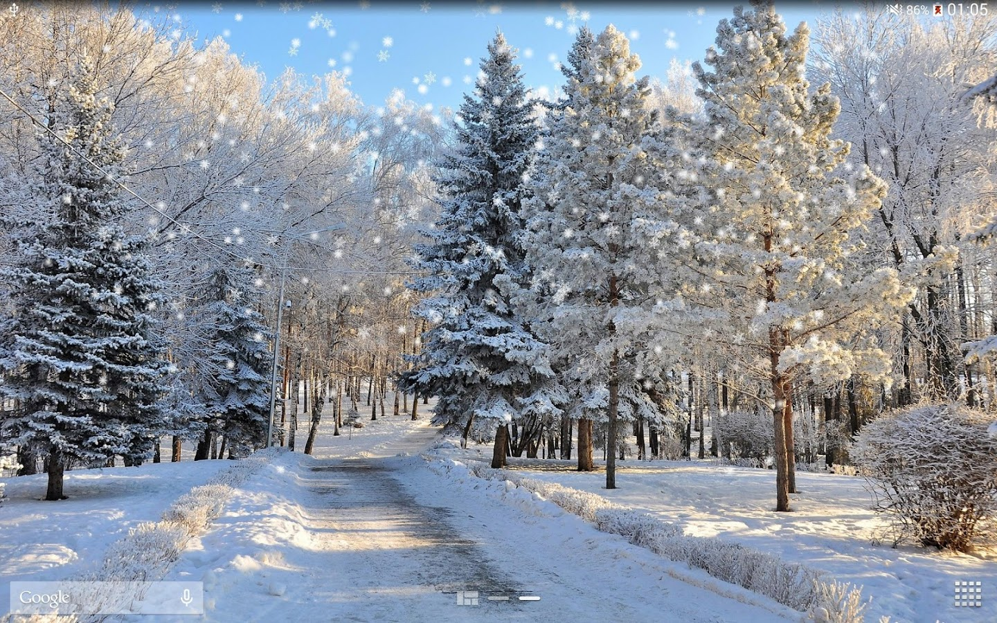 winter snow live wallpaper hd android apps on google play