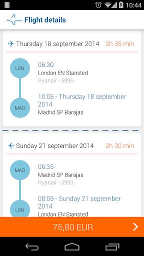 Bravofly: flights search