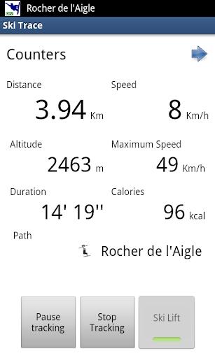 Ski Trace Free - GPS tracker
