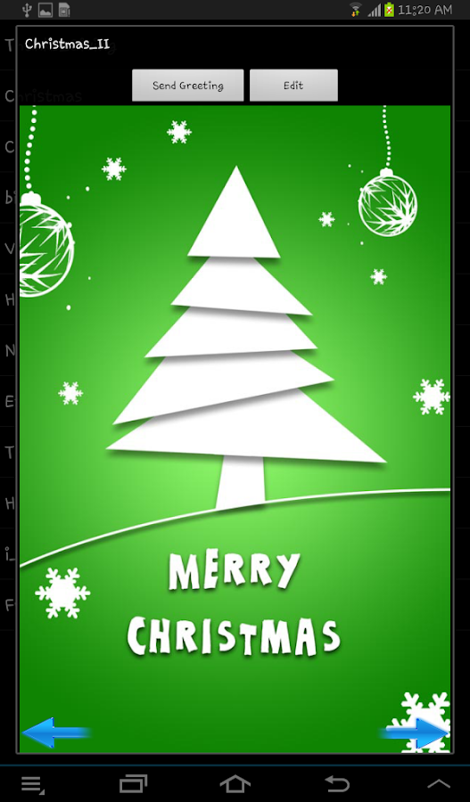 Greeting Card Maker Pro - screenshot