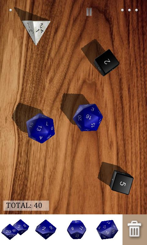 Dice​Shaker D&D- screenshot