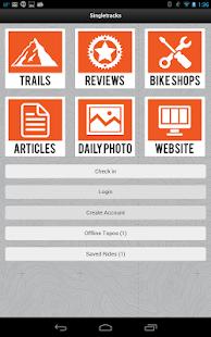 Singletracks Topo: MTB Trails