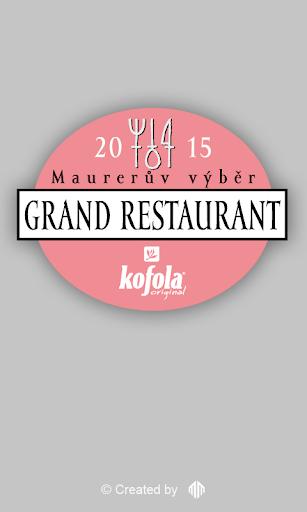 Maurerův Výběr Grand Rest.