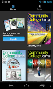 Community College Journal - screenshot thumbnail