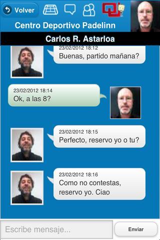 Centro Reservas- screenshot