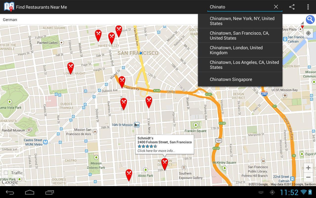 Find Nearby Restaurants Best