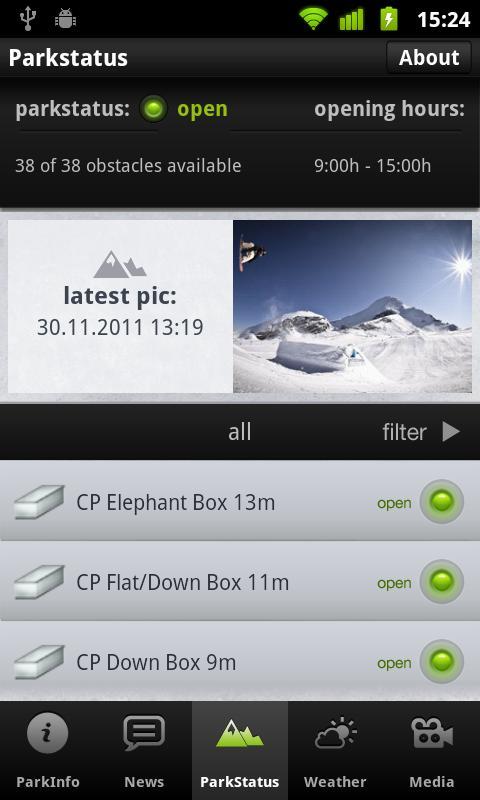 Snowpark Lenzerheide- screenshot
