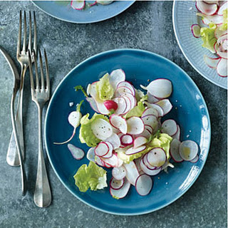 Boston Lettuce and Radish Salad