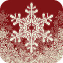 Snowflake Christmas Live Wall icon