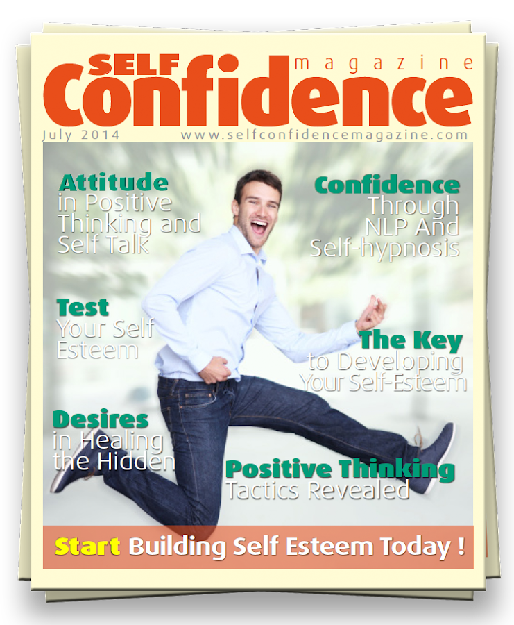 Self Confidence Magazine- screenshot