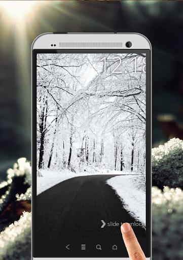 降雪屏幕锁定|玩工具App免費|玩APPs