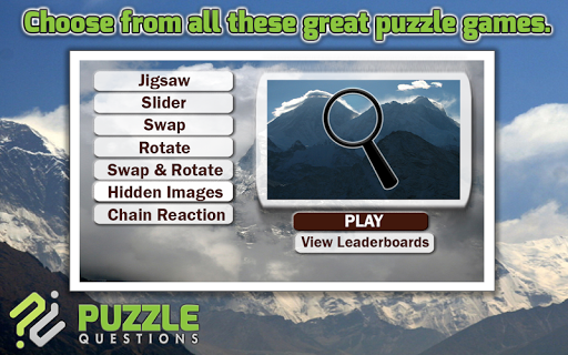 Mount Everest Puzzle Games