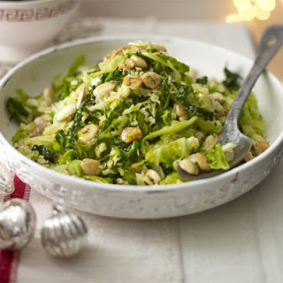 Savoy Cabbage With Almonds.