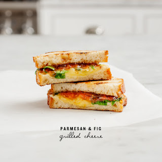 Parmesan & Fig Grilled Cheese