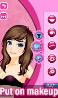 Screenshot of Dress Up! Pretty Princess