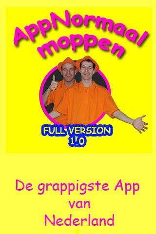 AppNormaal Moppen - screenshot