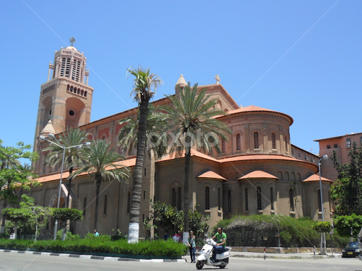 Ave maria cathedral port said egypt places of worship ave maria cathedral port said egypt by amr mohamed buildings architecture places publicscrutiny Gallery
