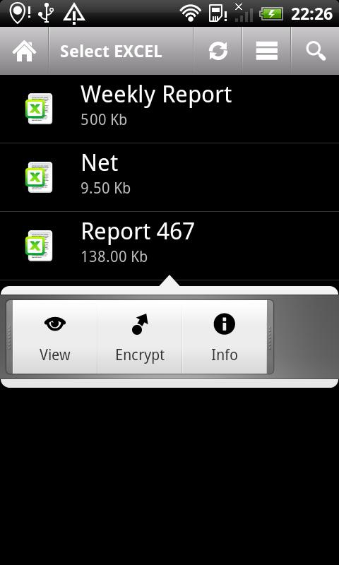 Excel Lock- screenshot