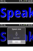 Screenshot of Speak Scroller