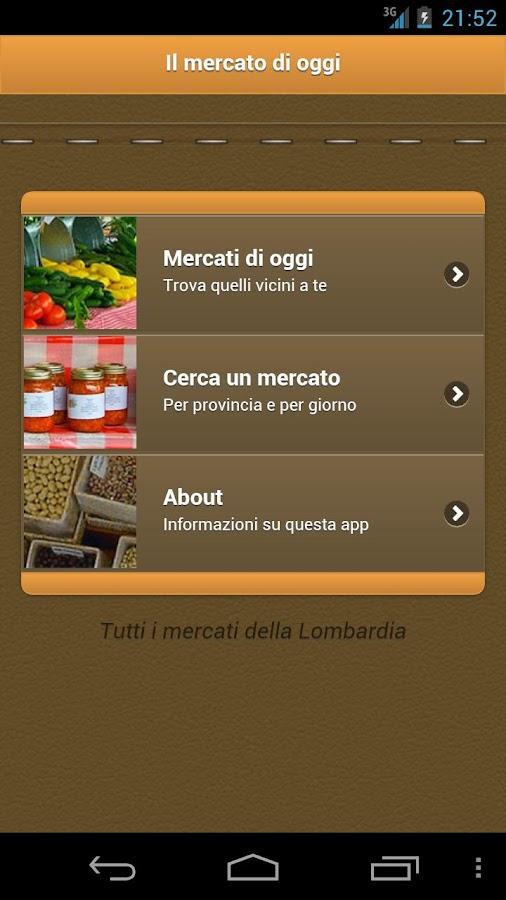 Il mercato di oggi- screenshot