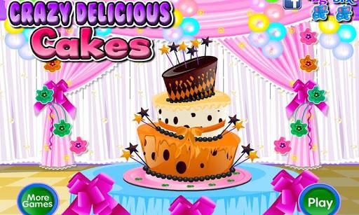 瘋狂美味可口的蛋糕:有主題裝飾的慶祝蛋糕製造者。