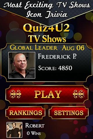 Quiz4U2 TV Shows