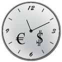Stock Markets Clock logo