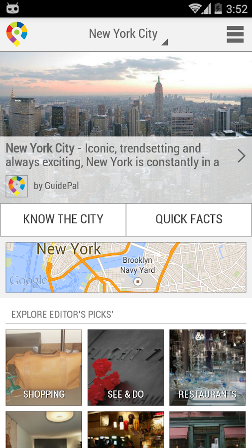 New York City Guide- screenshot