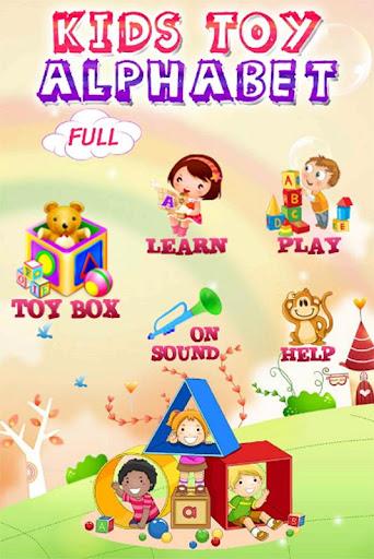 Kids Toy Alphabet Full