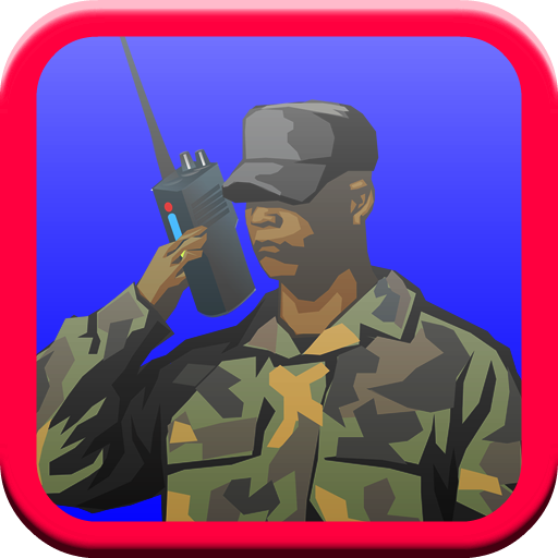 Army Parachute Man LOGO-APP點子