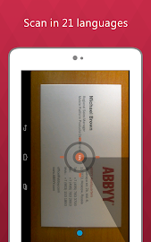 Business Card Reader Pro Screenshot 22