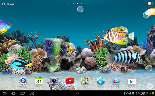 Aquarium Live Wallpaper