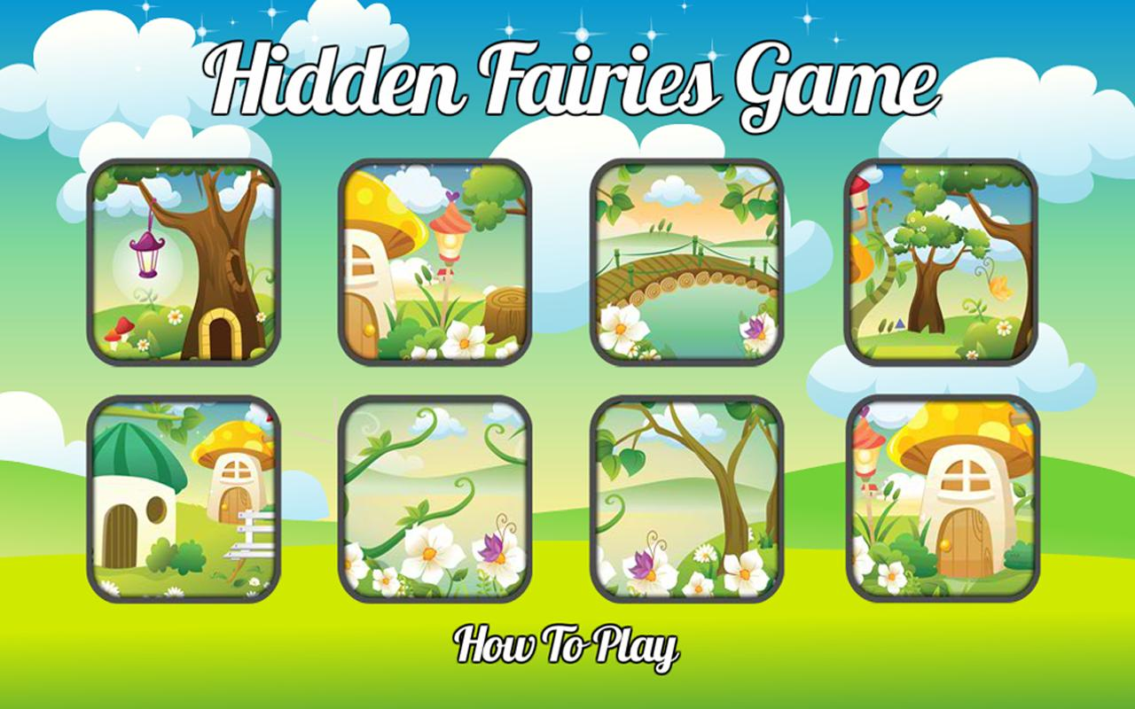 Fairies Hidden Objects Nexus 7 - screenshot