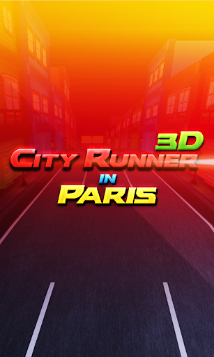 City Runner 3D In Paris