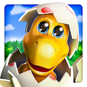 APK Game Happy Dinos for BB, BlackBerry