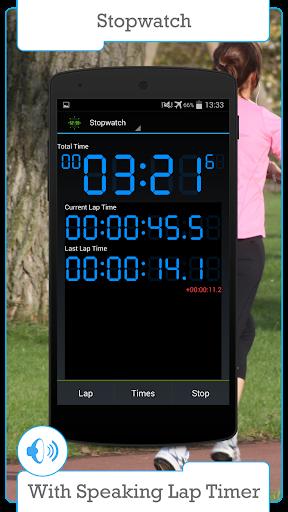 數字秒錶和定時器