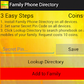 Family Phone Directory
