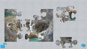Screenshot of Waterfalls Puzzle HD