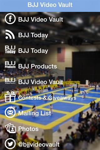BJJ Video Vault- screenshot