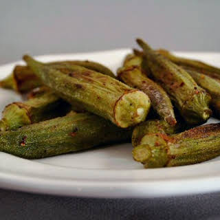Roasted Okra.