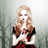 Vampire Rose Atom Theme