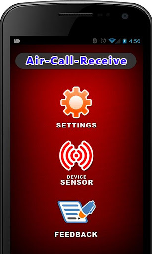 Air Call Receive Reject