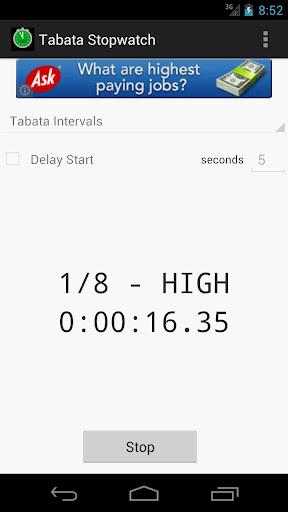 Tabata Stopwatch