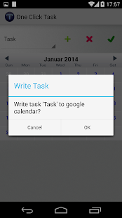 One Click Task - screenshot thumbnail