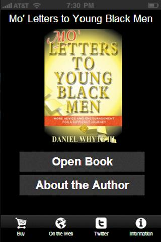 Mo' Letters to Young Black Men