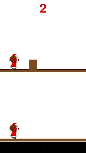 Make Christmas Santa Jump